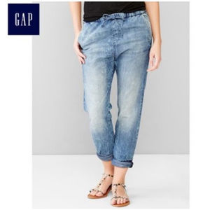 Gap 1969 drawstring tie waist jeans denim jogger S